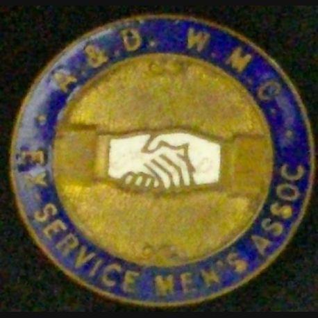 INSIGNE A.&.D. W.M.C EX-SERVICE MEN'S ASSOCIATION (L25)