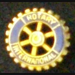 PIN'S DU ROTARY INTERNATIONAL DIAMÈTRE 1 cm (L23)