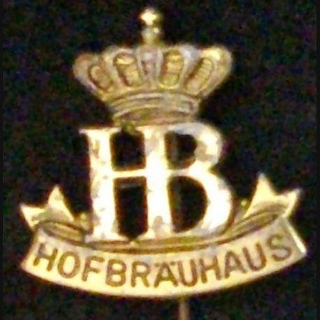 INSIGNE DU HOFBRÄUHAUS MÜNCHEN HAUTEUR 2 cm (L23)
