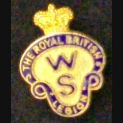 PIN'S ANGLAIS THE ROYAL BRITISH LEGION WOMENS SECTION (L25)