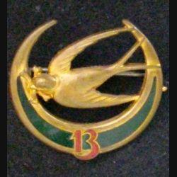 13° RTA : 13° RÉGIMENT DE TIRAILLEURS ALGÉRIENS (ABPD) 1939 ÉMAIL (L 11)