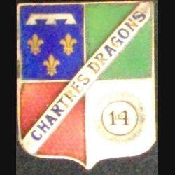 14° RD : 14° RÉGIMENT DE DRAGONS CHARTRES DRAGONS