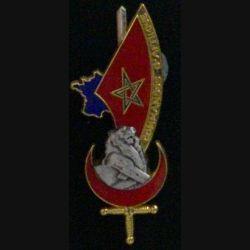 PROMOTION ESM 3° BATAILLON : insigne de promotion Commandos d'Afrique de fabrication Balme G. 4235 (L1)