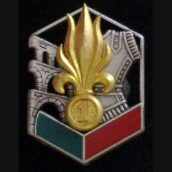 1° REG : XX°Anniversaire 1984 2004 du 1° régiment étranger du génie LR Paris Numéroté 1728 (L 30)