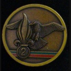 2° REG : 3° compagnie du 2° régiment étranger du génie LR Paris Numéroté A 161 (L 30)