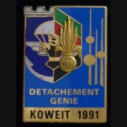 6° REG - 17° RGP : 6° RÉGIMENT ÉTRANGER DU GÉNIE KOWEIT 1991