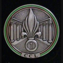 6° REG : Compagnie commandement logistique CCL du 6° régiment étranger du génie FIA avec devise (L 30)