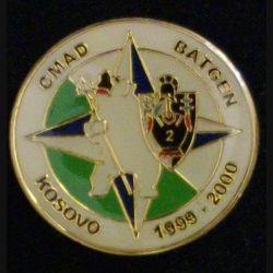 2° RG : 2° RÉGIMENT DU GÉNIE BATGEN KOSOVO CMAD 1999-2000 (L34)