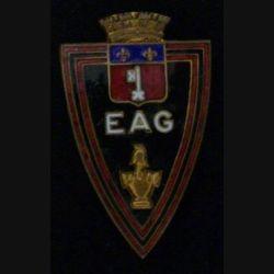 EAG : ÉCOLE D'APPLICATION DU GÉNIE Arthus Bertrand émail attache collée (L40)