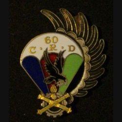 60° CRD : 60° Compagnie de réparation divisionnaire Drago G. 1479 émail (L 70)