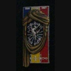 1° RHP : 1° RÉGIMENT DE HUSSARDS PARA 1°ESCADRON TCHAD 1996-97