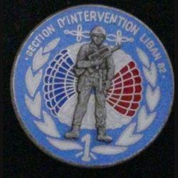 1° RHP : 1° RÉGIMENT DE HUSSARDS PARA SON INTERVENTION LIBAN 82