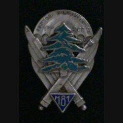 1° RCP : 1° RÉGIMENT DE CHASSEURS PARA SECTION INTERVENTION M81