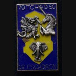 1° RHP : 1° RÉGIMENT DE HUSSARDS PARACHUTISTE 1°ESC TCHAD 79-80