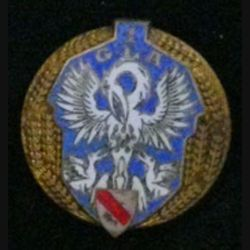 1° GLA : 1° GROUPE DE LIVRAISON PAR AIR ÉMAIL de fabrication Drago Béranger émail (L 69)