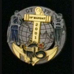 1° RIMA : 1° RÉGIMENT D'INFANTERIE DE MARINE BOSNIE 2001 14°M N°833 (L 196)