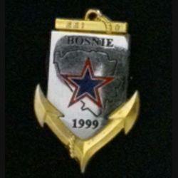 1° RIMA : 1° RÉGIMENT D'INFANTERIE DE MARINE EEI 9 BOSNIE 1999 Pichard Balme (L 196)