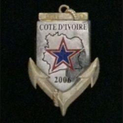 1° RIMA : 1° RÉG D'INF DE MARINE EEI 9 COTE D'IVOIRE 2006 N°010 Arthus Bertrand (L 196)