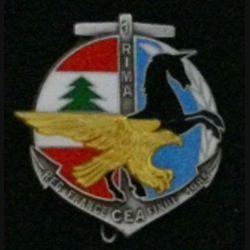 1°RIMA : 1°RÉGIMENT D'INF DE MARINE CEA REG FRANCE FINUL 1985
