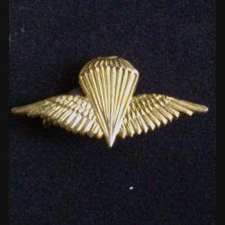IRAK : insigne de brevet parachutiste irakien doré (L1)