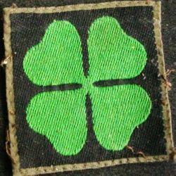 Insigne tissu inconnu (scout ou division US ou anglais ou irlandais ?)