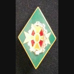 187° CQG : insigne métallique de la 187° compagnie de quartier général de fabrication Drago Olivier Métra H. 971 en émail