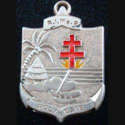 RIMAP : Régiment d'infanterie de marine en Polynésie de fabrication prestige argentée Boussemart 2002 (L206)
