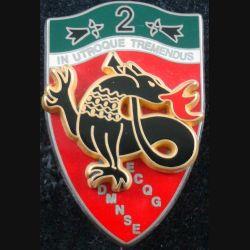 2° RCH : 2° régiment de chasseurs IFOR ECQG DMNSE de fabrication Boussemart (L85)