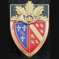 1° RCH : 1° régiment de chasseurs de fabrication Drago Paris H. 120 en émail (L84)