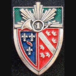 1° RCH : 1° régiment de chasseurs de fabrication Arthus Bertrand Paris bleu nuit (L84)