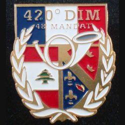 1° RCH : 1° régiment de chasseurs au liban 420° DIM 48° Mandat (L84)