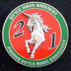 1° RCH : 2° escadron du 1° régiment de chasseurs de fabrication J.Y Ségalen 2006 (L84)