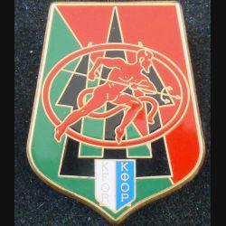 152° RI : insigne métallique du 152° régiment d'infanterie au Kosovo Bataillon français n°3 de fabrication GLF