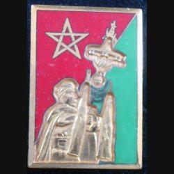 1° RS : Fanfare du 1° régiment de spahis de fabrication Drago n° M 147 en émail 1° modèle (L 66)