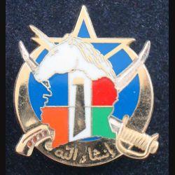 1° RS : 1° escadron du 1° régiment de spahis opération Licorne 2004 de fabrication Arthus Bertrand Paris (L 66)