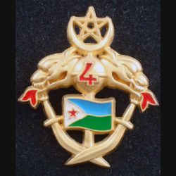 1° RS : 4° escadron du 1° régiment de spahis à Djibouti de fabrication Martineau n° 164 / 200 (L 67)