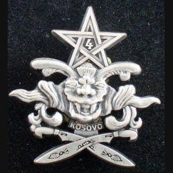 1° RS : 4° escadron du 1° régiment de spahis au Kosovo de fabrication Arthus Bertrand Paris (L 67)