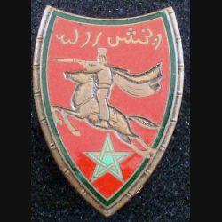 22° RSM : 22° régiment de spahis marocains de fabrication Drago Paris G. 452 en émail (L 62)