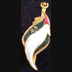 23° RSM : 23° régiment de spahis marocains Drago G. 1581 en émail usé (L 63)