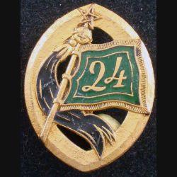 24° RSM : 24° régiment de spahis marocains Drago G. 1816 en émail (L 63)