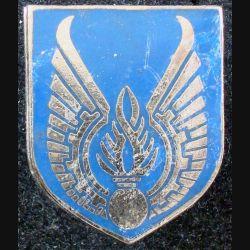 ECU de Gendarmerie : insigne métallique de l'écu de la gendarmerie de l'air de fabrication Drago Paris (L 73)