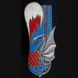 PROMO CYR : insigne métallique de la promotion Turenne de fabrication Drago G. 2394 (L17)