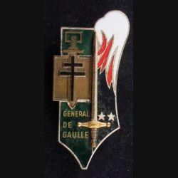 PROMO CYR : Général De Gaulle 25 Juillet 1971 Drago G. 2294 émail (L 17)