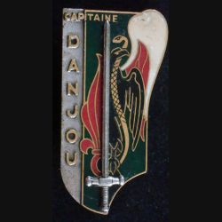PROMO CYR : Capitaine Danjou 23 juillet 1972 Drago Paris G. 2331 (L 17)