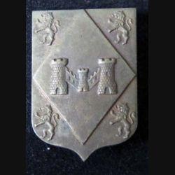 101° DIF : Insigne métallique de la 101° division d'infanterie de forteresse en métal