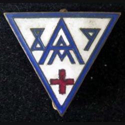 89° AMA : 89° ambulance médicale d'armée de fabrication Mourgeon en émail (L 96)