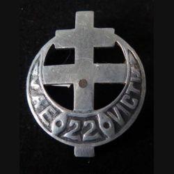 22° BMNA : 22° BMNA bataillon de marche nord africain Vae Victis 40 mm en aluminium (L 15)