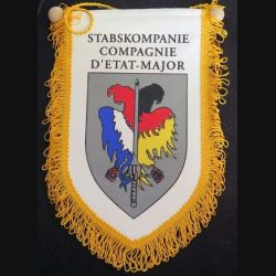 EM : fanion de la compagnie d'état major Stabskompanie en tissu imprimé (C168)