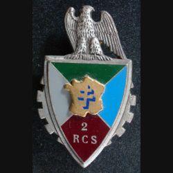 2° RCS : 2° Régiment de Commandement et de Soutien de fabrication Fraisse G. 2660, en relief