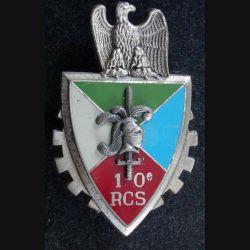 10° RCS : 10° régiment de commandement et de soutien de fabrication DELSART G. 2580 en relief. (L226)